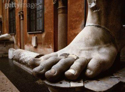 Foot of Statue of Constantine