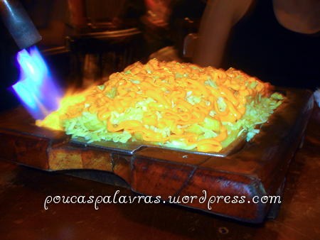 Batatas Flambadas do Chopp do Gus