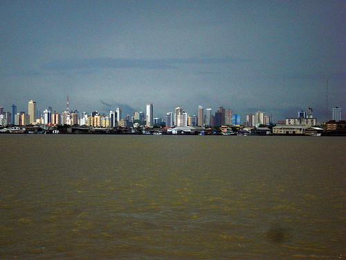 Belém, PA, Brasil - vista da Ilha do Combu