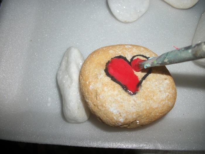 pedra e coração