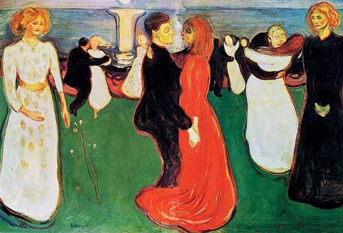 A Dança da Vida, 1899-1900 Edvard Munch